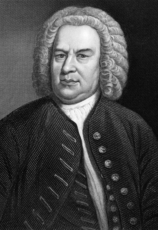 Known for his violin concertos, Johann Sebastian Bach was a famous German composer of the Baroque period.