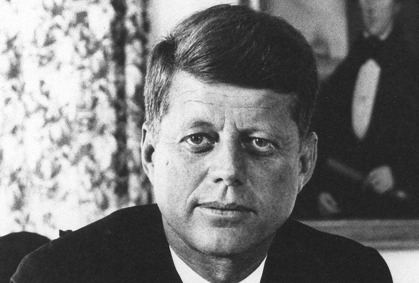 Support for what would become the Apollo missions was increased when United States President John F. Kennedy made a 1961 speech in which he made the goal of landing a man on the Moon by the end of the decade a national priority.