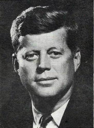 Future President John F. Kennedy appeared much more polished than his rival Richard Nixon in their 1960 TV debate.