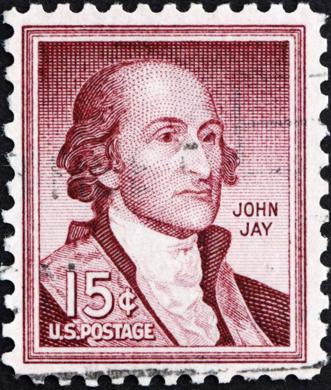 John Jay, who authored five of the Federalist Papers essays, served as the first Chief Justice of the United States.