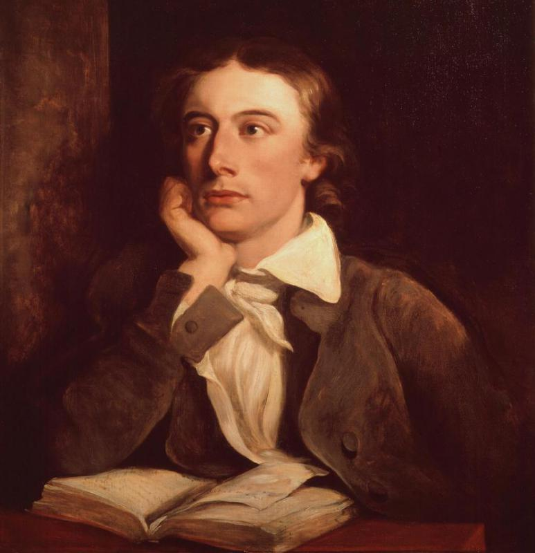 John Keats' work is associated with the Romantic movement, a cultural movement that emphasized emotion and passion over rational thought.
