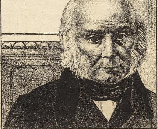 John Quincy Adams defeated Andrew Jackson in the 1824 Presidential Election, but lost to Jackson four years later.