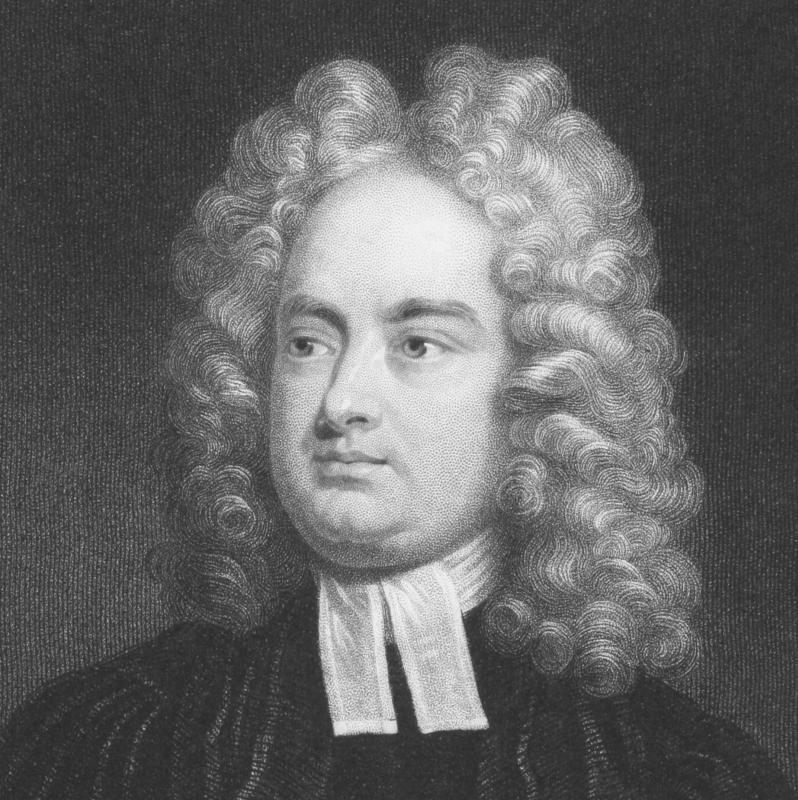 Irish writer Jonathan Swift critiqued English society with Juvenalian satire.