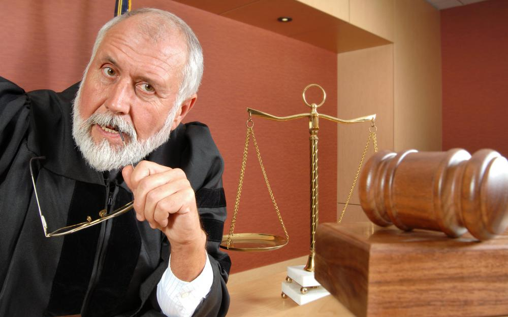 Judges working within a court system can resolve conflicts through litigation.