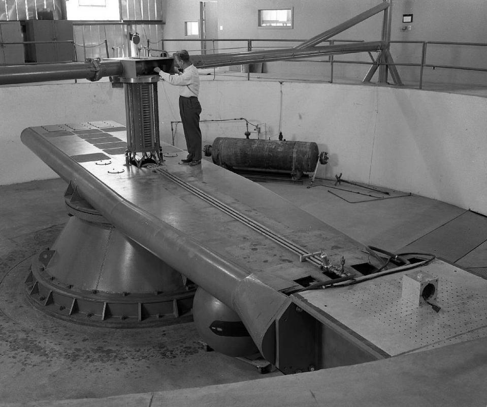 An astronaut training centrifuge.