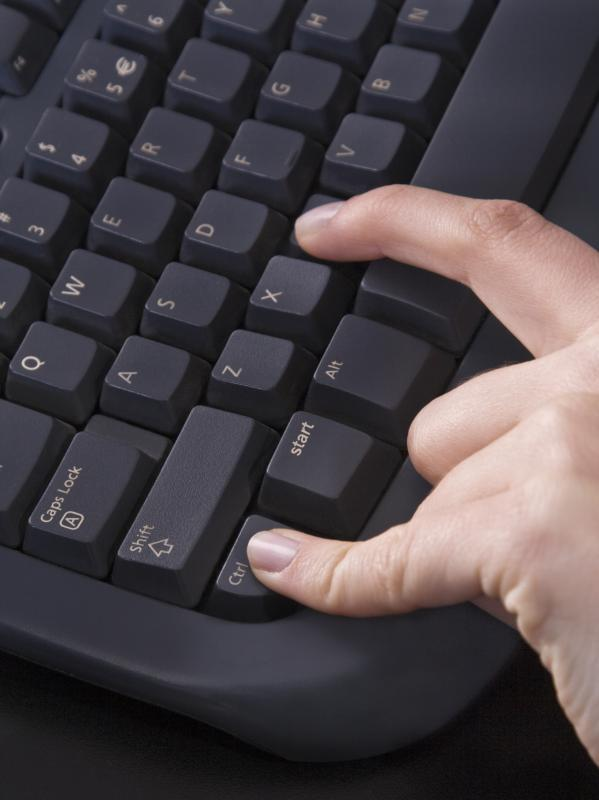 A person can copy files by selecting them, then pressing the ctrl and c keys at the same time.