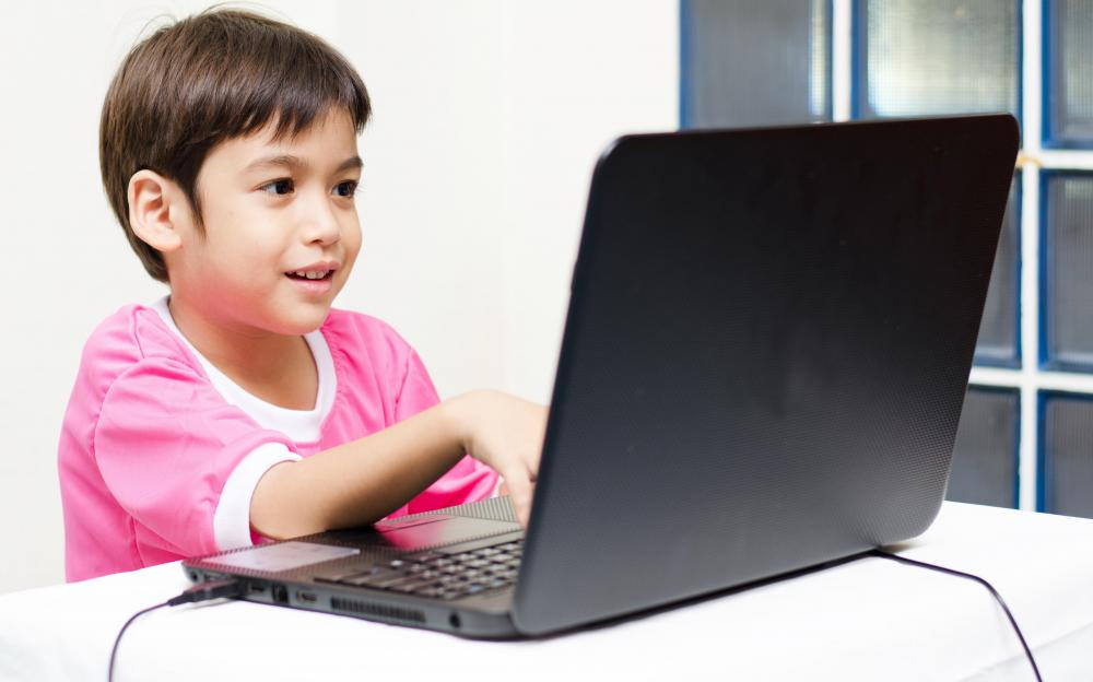 Too much screen time in front of a computer can limit a child's activity and lead to weight gain.