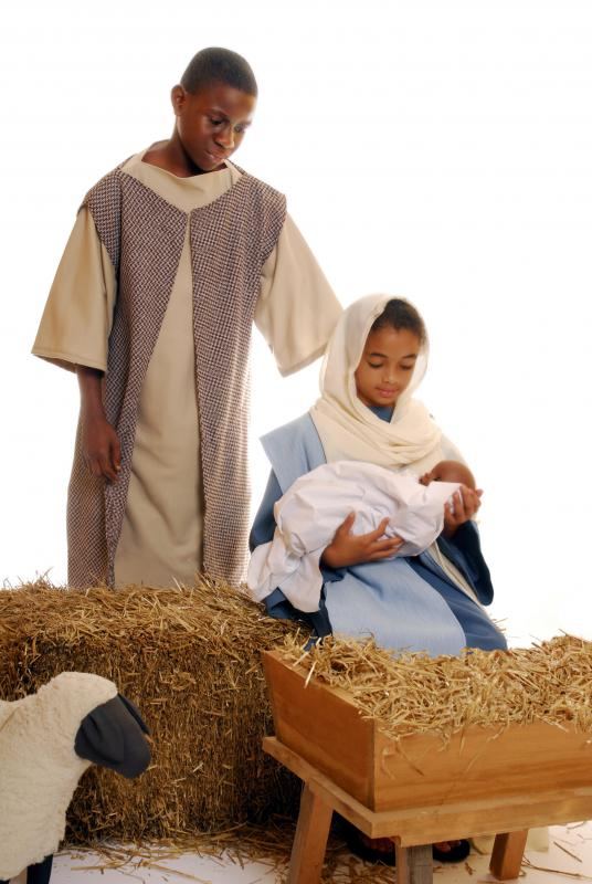 The ACLU may seek a legal injunction to have a public display of a Nativity scene removed due to the display of religion.