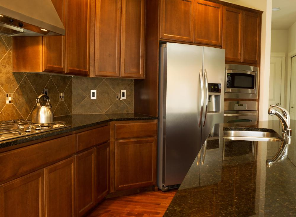 It is important to take measurements before purchasing kitchen cabinets online.