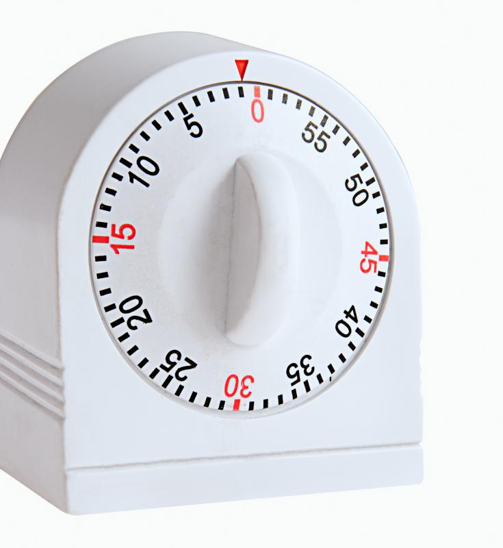 An egg timer can be used in Boggle to allot exactly three minutes.