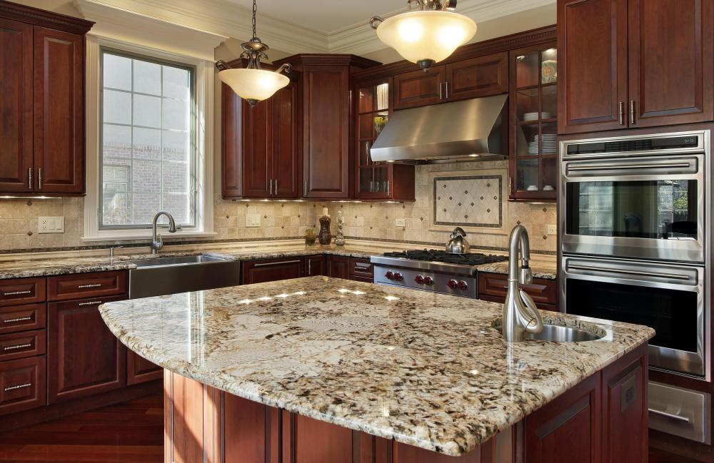 An island equipped with a sink may be a must-have item when remodeling the kitchen.