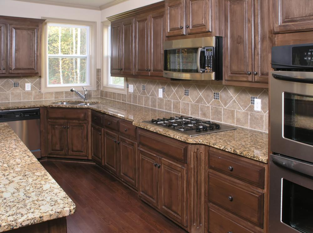 wonderful What Is A Kitchen Cabinet #8: A kitchen with refaced cabinets.