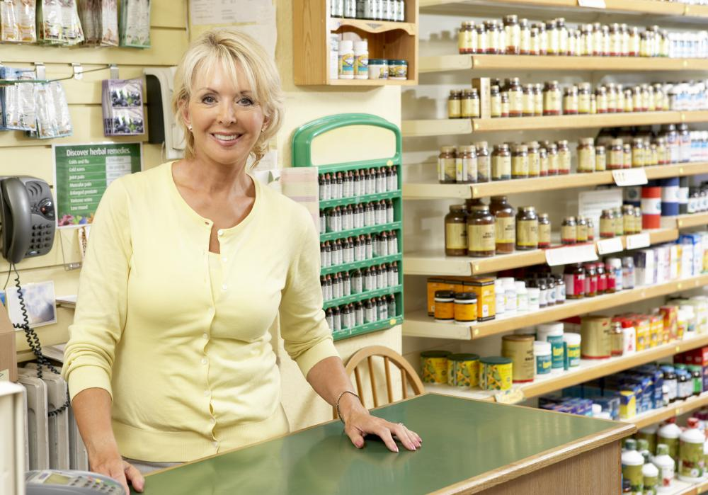 A fruit importer might work with a health food store representative.