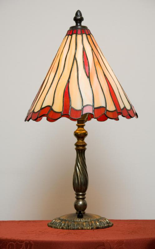 Lampshades And Other Home Decor Can Be Adorned With Recycled Glass