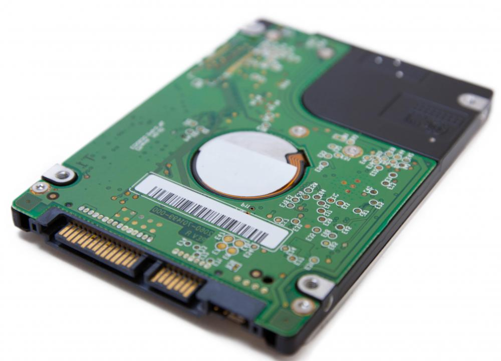 A laptop hard drive will either have an IDE or SATA interface.