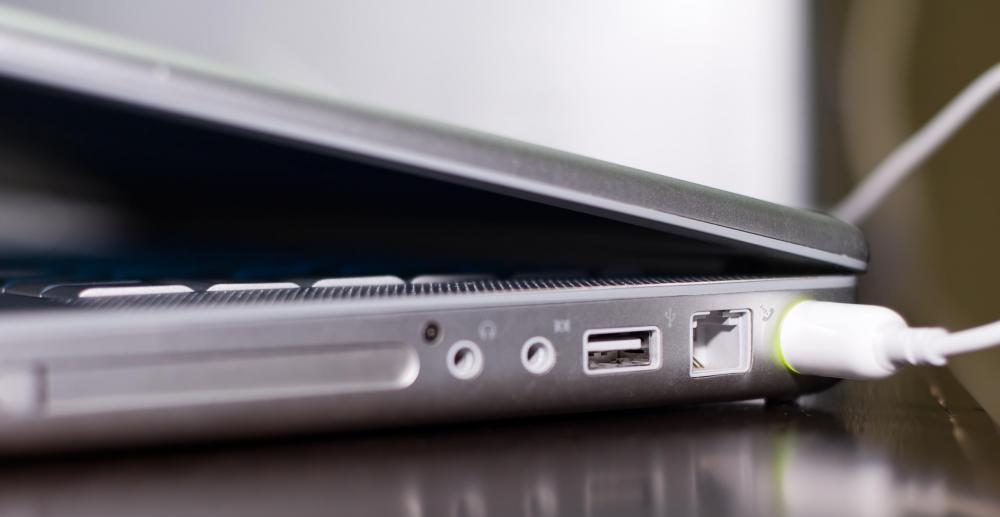 Port replicators often have more USB ports than on a laptop, allowing users to plug their laptop into more peripheral devices.