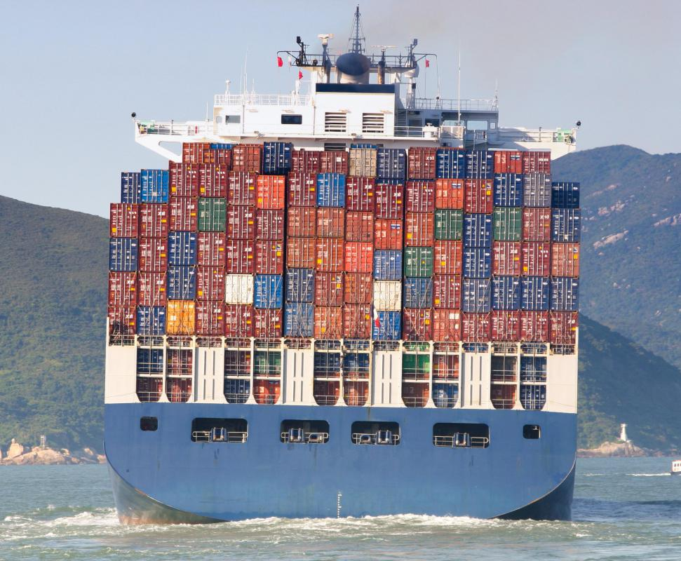 Deadweight tonnage typically refers to a ship's total cargo capacity.