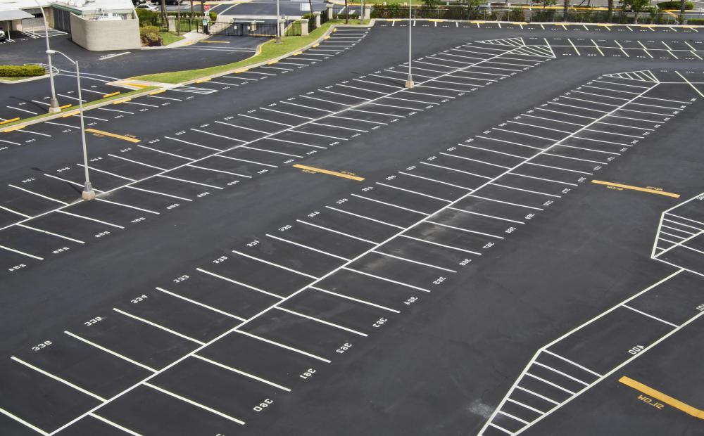 Large parking lots are considered environmentally unfriendly.