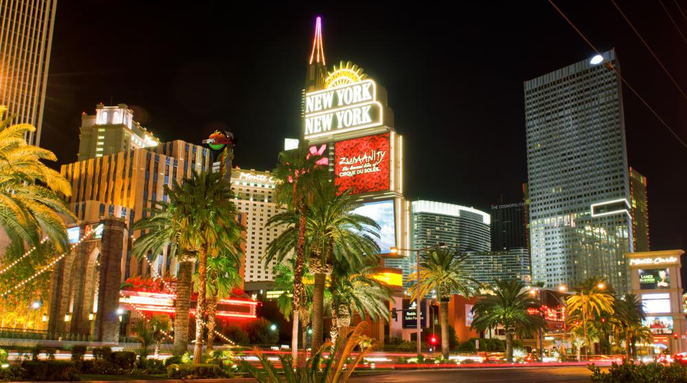 "Gambling and other popular activities in Las Vegas earned it the nickname ""Sin City."""