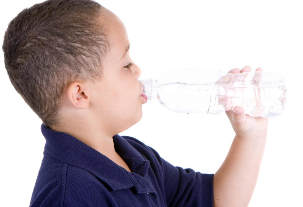 Dehydration may cause hallucinations in children.