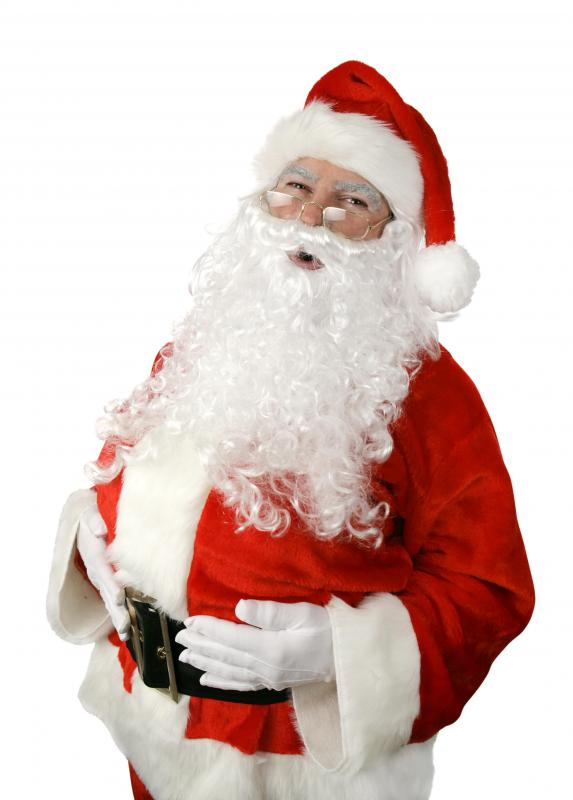 Traditionally, some Christmas gifts often include some from Santa Claus.