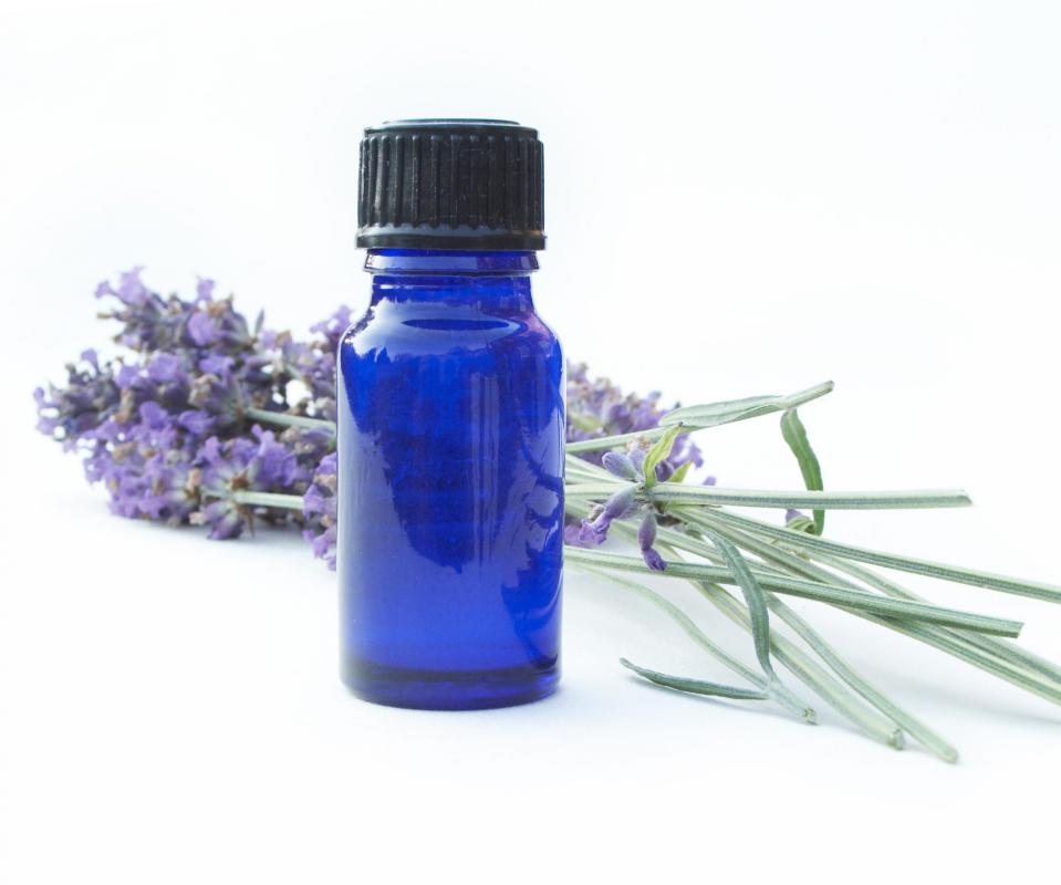 Lavender shower oil promotes relaxation and feelings of peace.
