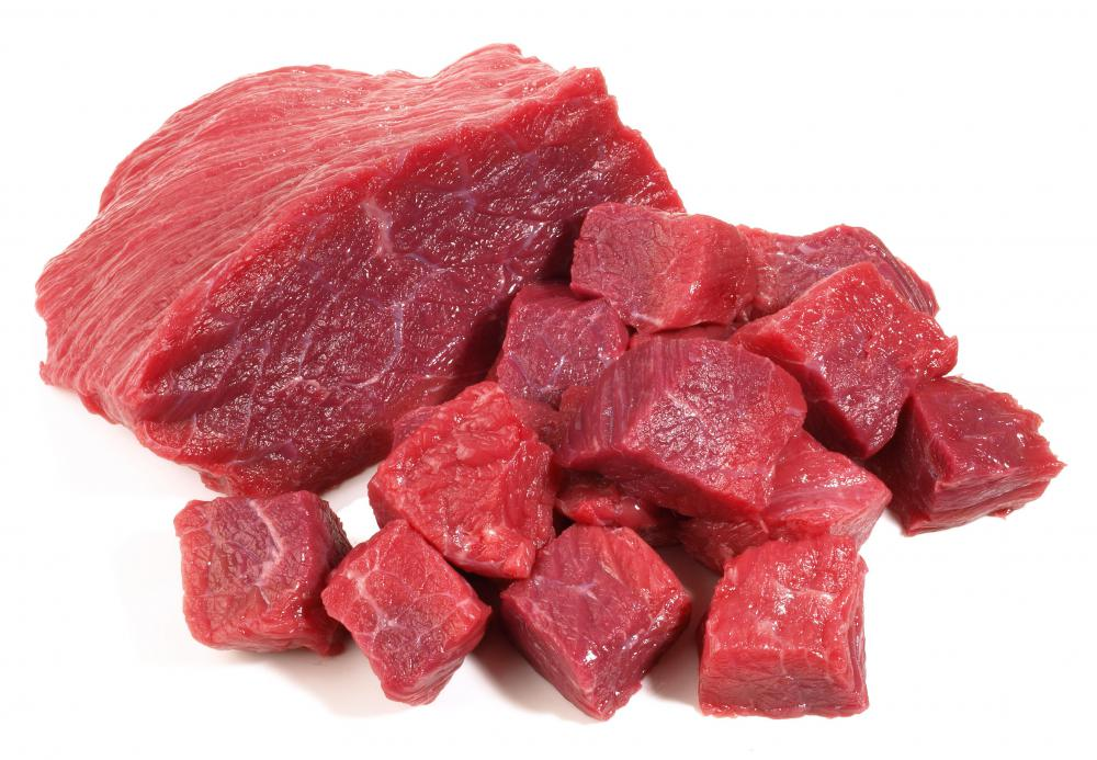 Beef tenderloin tends to be lean.