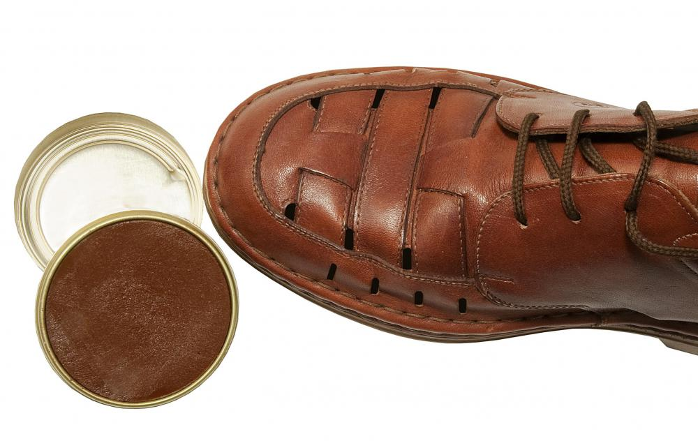 Iron oxide may be found in shoe polish.
