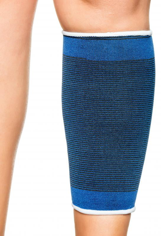 Calf muscle strains may take a long time to heal.