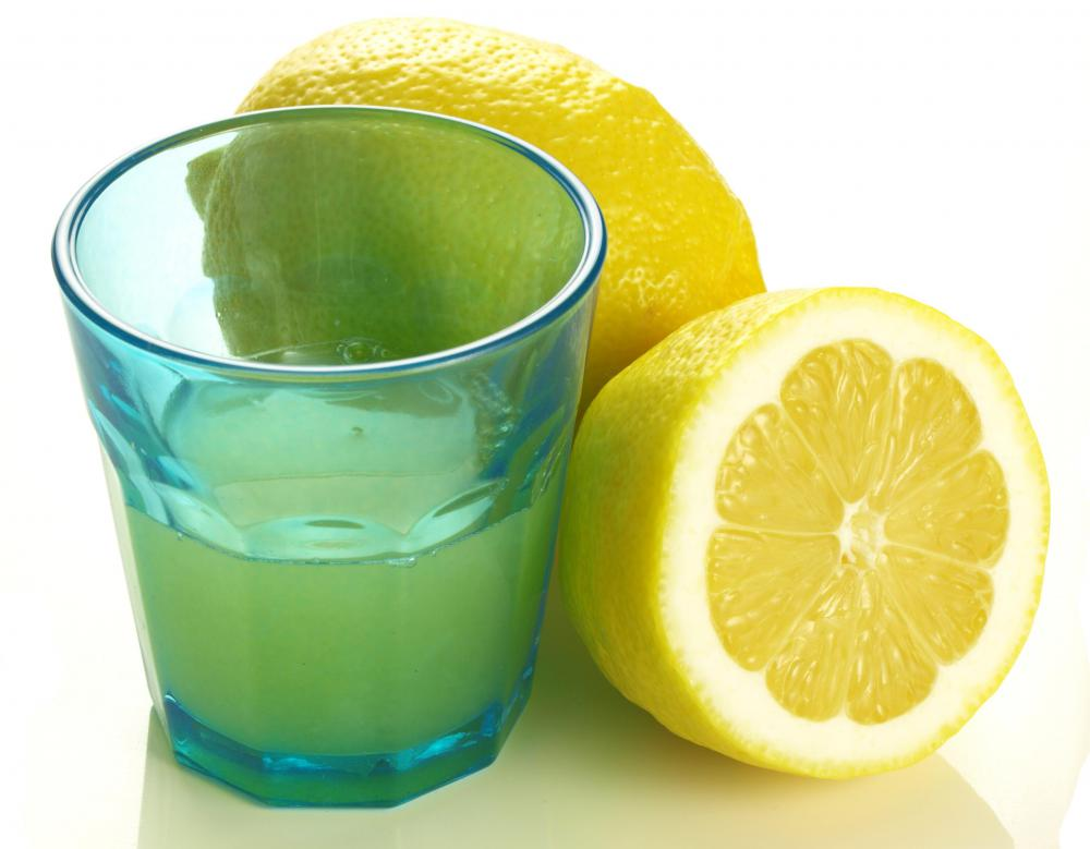 Lemon juice can be used to clean kitchen cabinets.