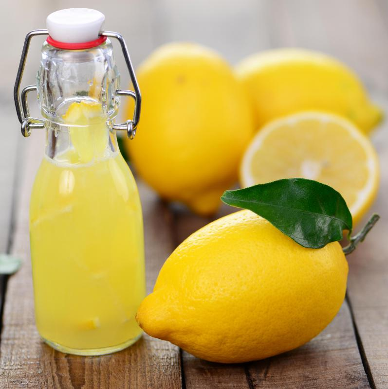 Lemon juice is sometimes used as a face scrub.