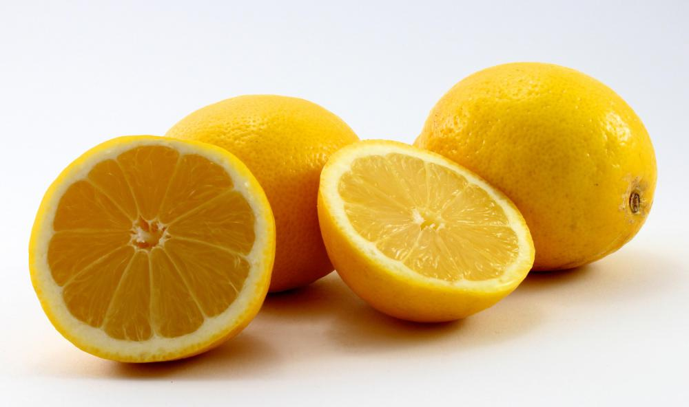 Lemon juice is a natural exfoliant.