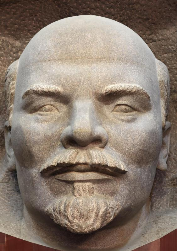 Vladimir Lenin, who launched the communist era in Russia, was embalmed, and his body is on display in Red Square.