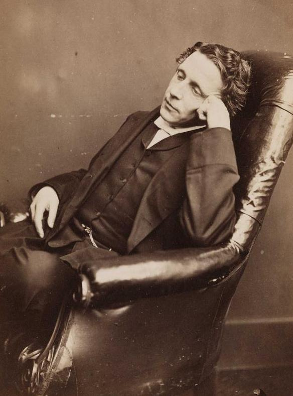 Lewis Carroll's real name was Charles Dodgson.