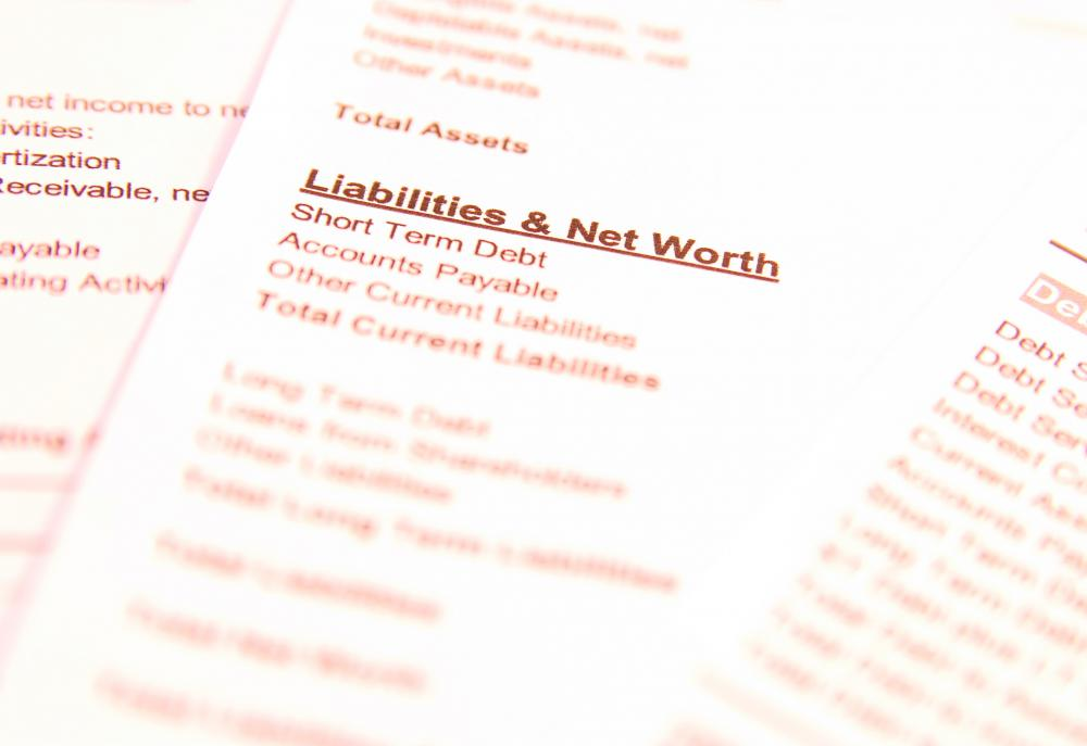The worth of assets minus a company's liabilities is referred to as net assets.