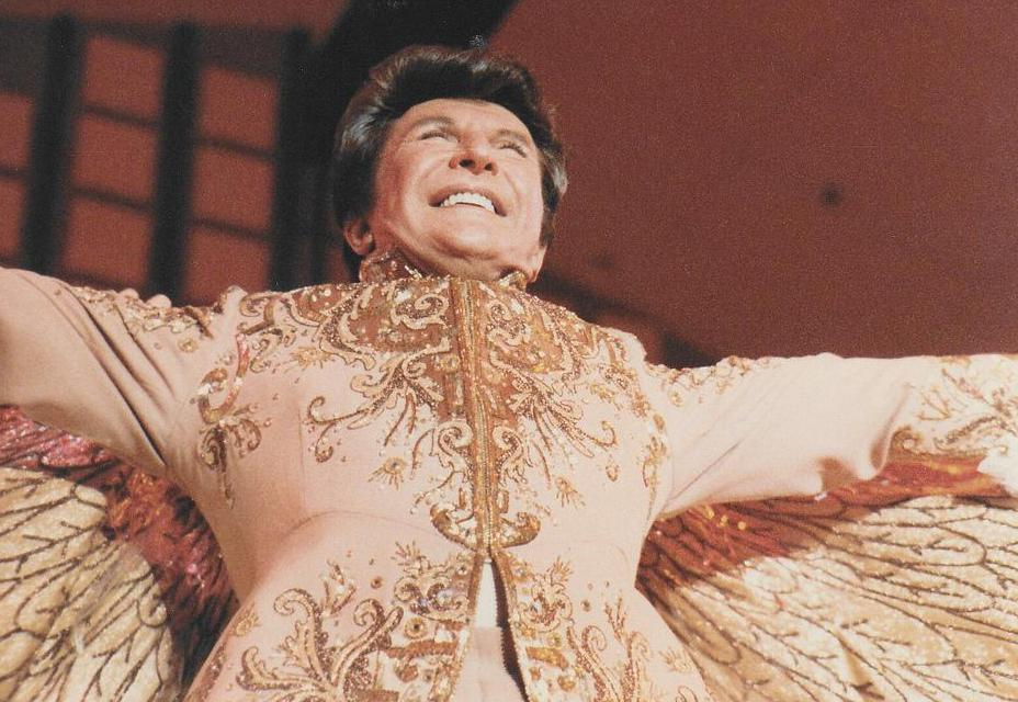Liberace was a forerunner to glam rockers.