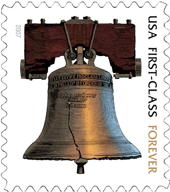 The Liberty Bell is a symbol of American independence.