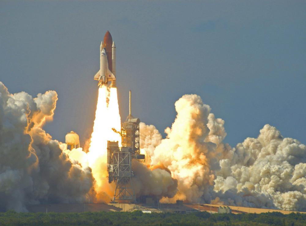Some space shuttle components were made of aluminum-based alloys.