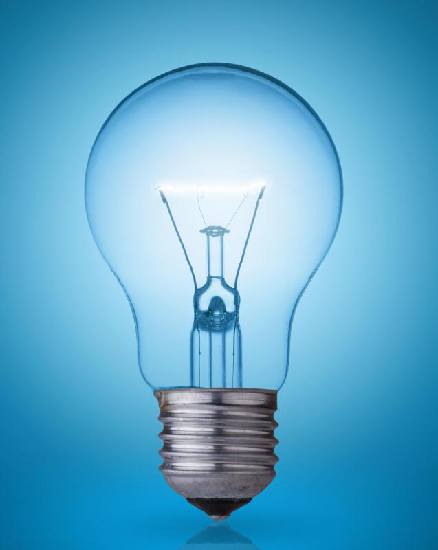 Replacing incandescent light bulbs with more efficient ones helps to save energy and money.