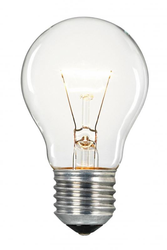 What is incandescent lighting with pictures Fluorescent light bulb