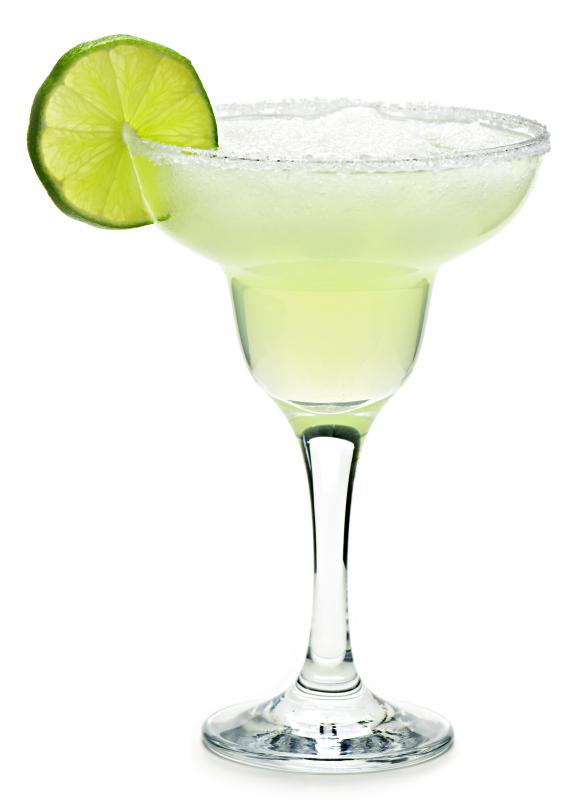 Margarita glasses usually hold between 8 and 16 ounces.