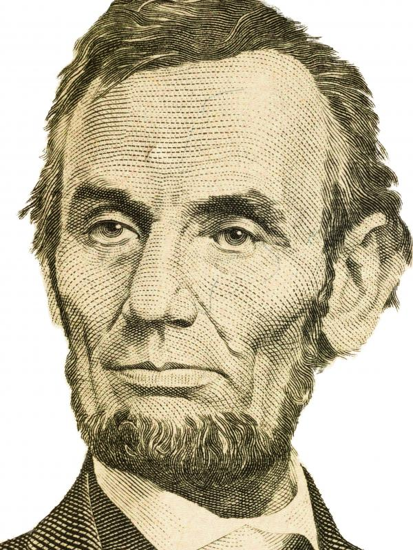 Abraham Lincoln is featured on wheat pennies.