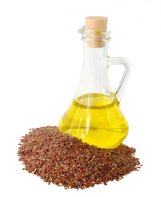 Flax seed oil contains Omega-3 fatty acids.
