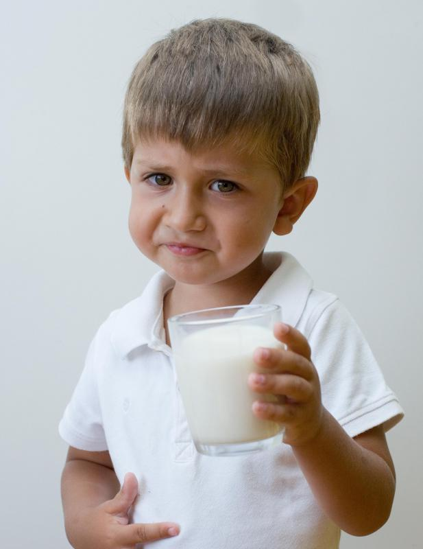 Stomach cramping and diarrhea after consuming dairy products may be signs of lactose intolerance.