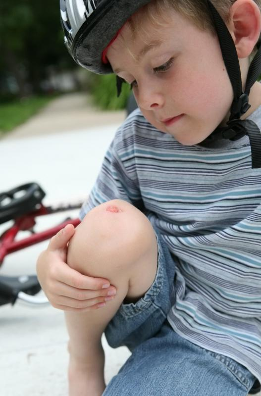 Seemingly minor injuries may lead to uncontrollable bleeding in children suffering from hemophilia.