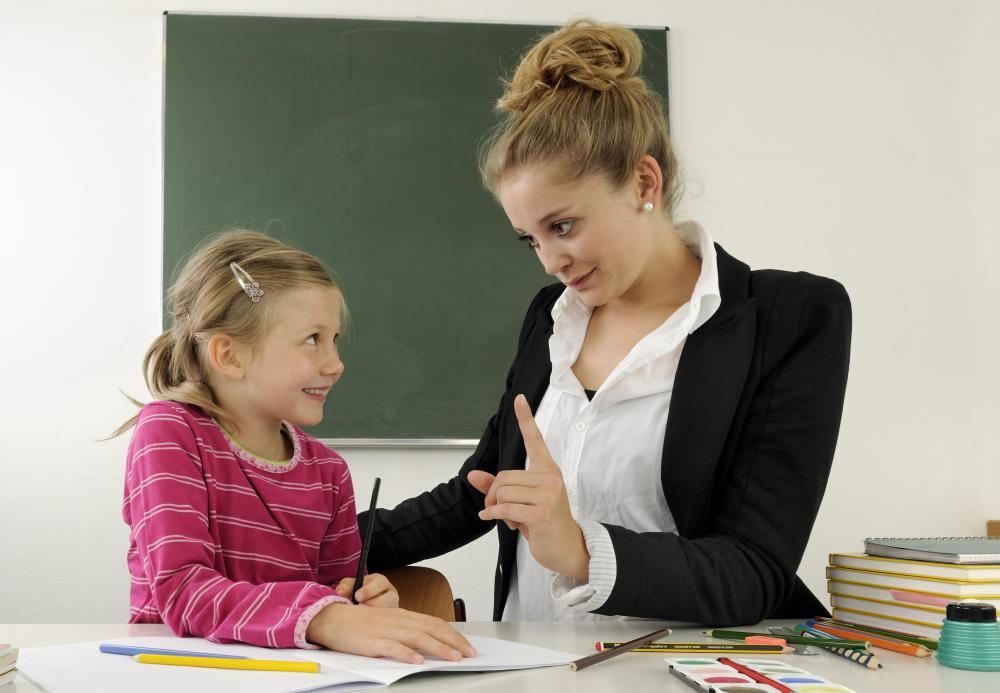 Student teachers take control of a class for a certain period of time, and may be responsible for teaching for an entire day.