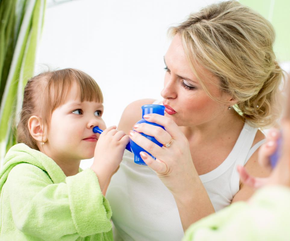 Neti pots are used to cleanse the nostrils and sinuses of mucus and airborne pollution.