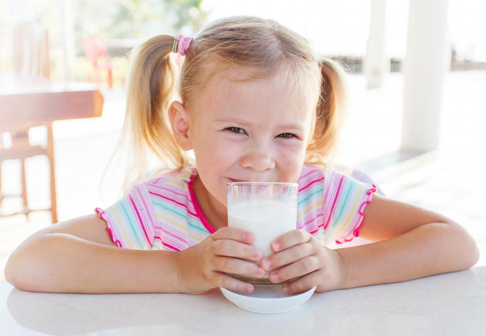 Only fortified milk is a good source of vitamin D for kids.