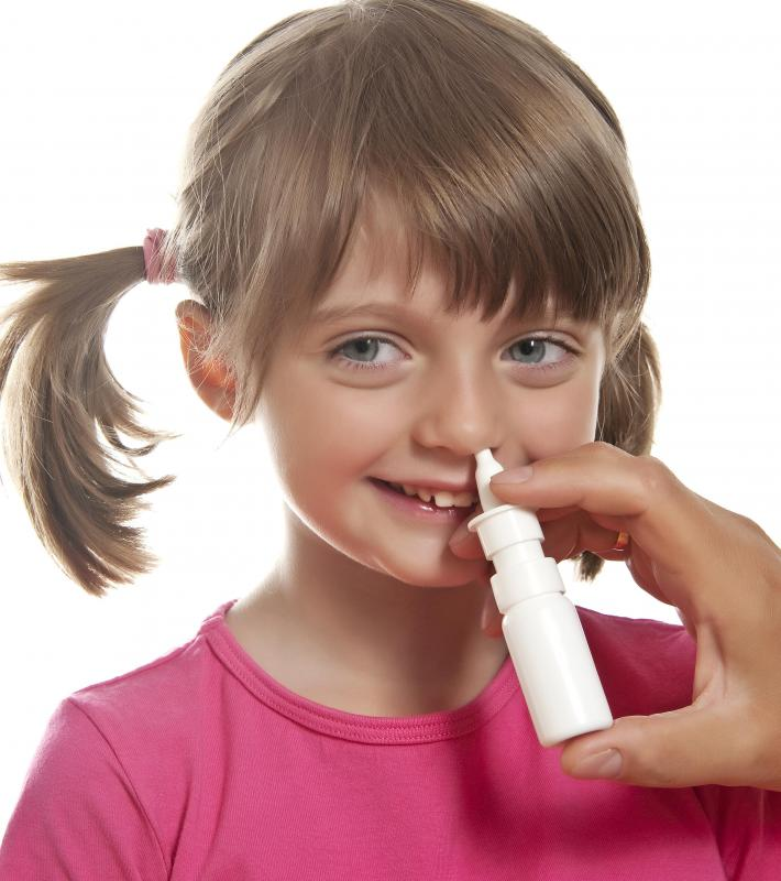 Nasal sprays may be helpful in relieving sinus congestion.