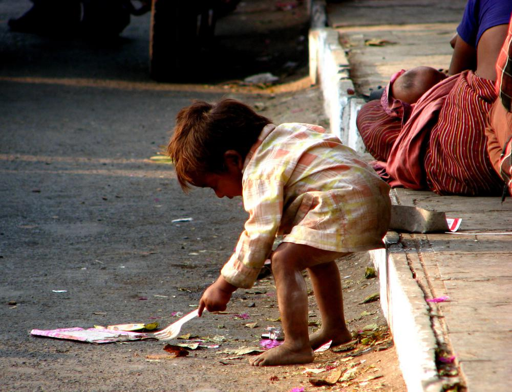 One downside of a traditional economy is that many find themselves living in poverty for their entire lives.